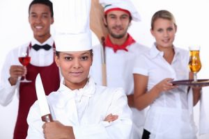 restaurant staff image from Entrust Payroll Services